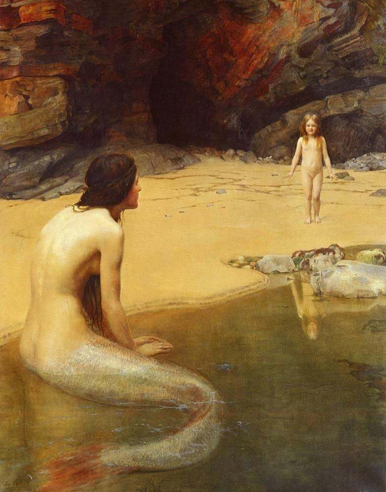 O Bebê da Terra - Jhon Collier e suas pinturas belíssismas | Neoclassicismo