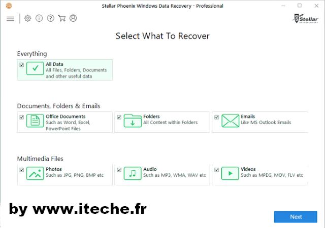 télécharger Stellar phoenix Data Recovery 7 cracké pour windows