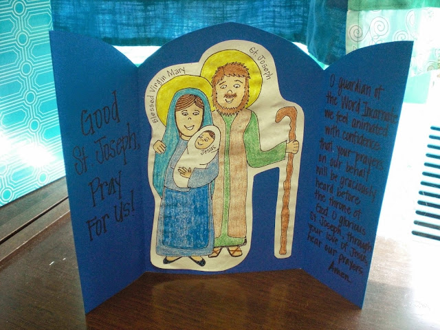 http://looktohimandberadiant.blogspot.com/2015/03/quick-easy-saint-joseph-shrine.html