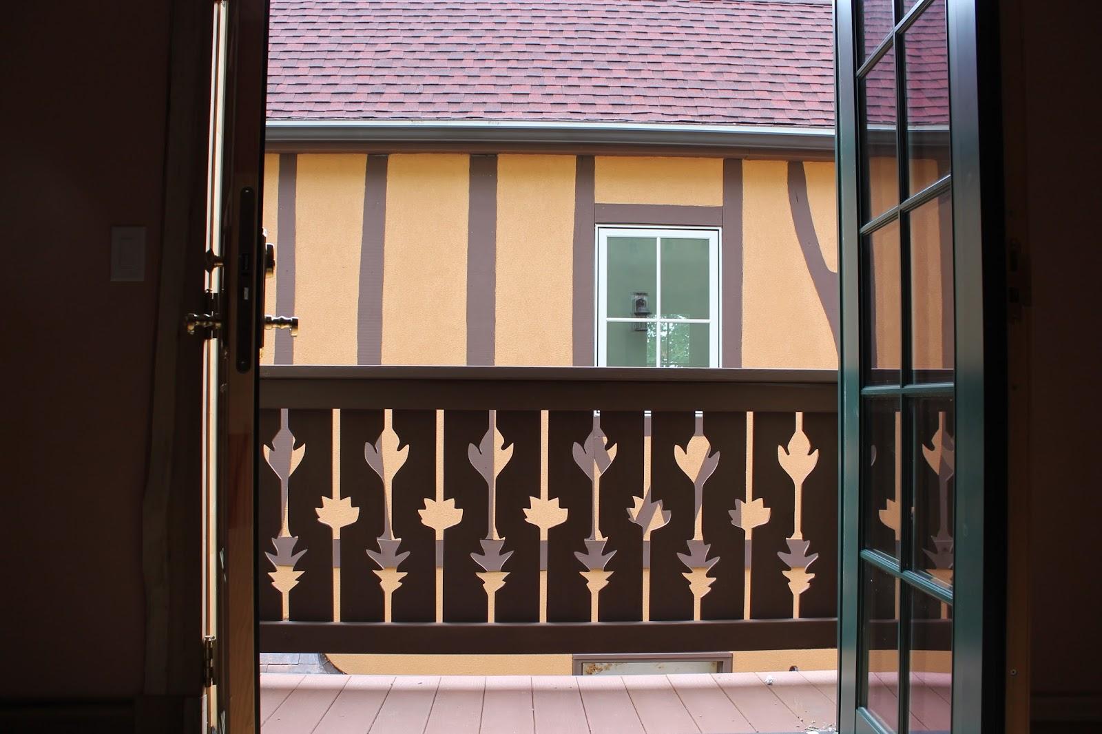 One of a kind railings.