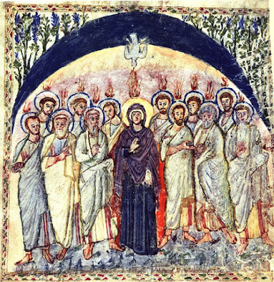 Pentecostes Ícones para grupo de oração, seminário de vida no Espírito Santo e eventos