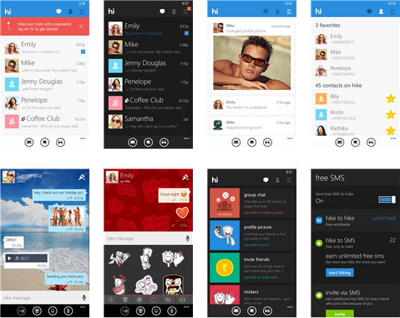 Hike for PC(Windows,Mac), How to Install Hike Messenger on