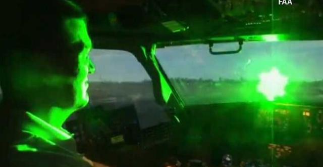TNI AU geram ! Warga Main Laser sembarangan ,Pilotnya Gagal Fokus
