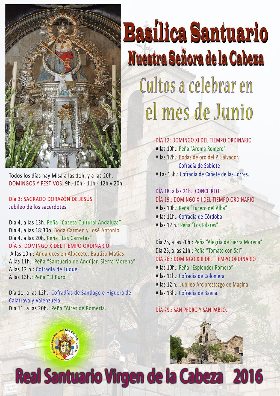 Real Hermandad Virgen De La Cabeza De M Laga Mayo 2016 # Muebles Nieto Andujar