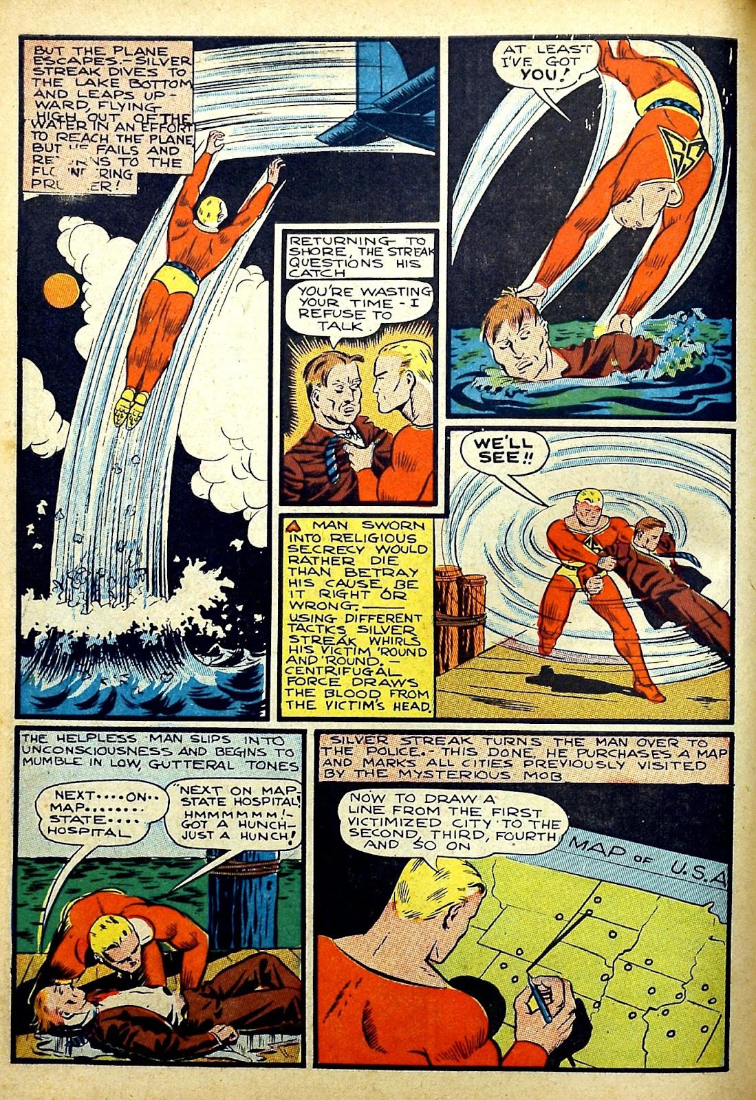 Read online Silver Streak Comics comic -  Issue #22 - 18