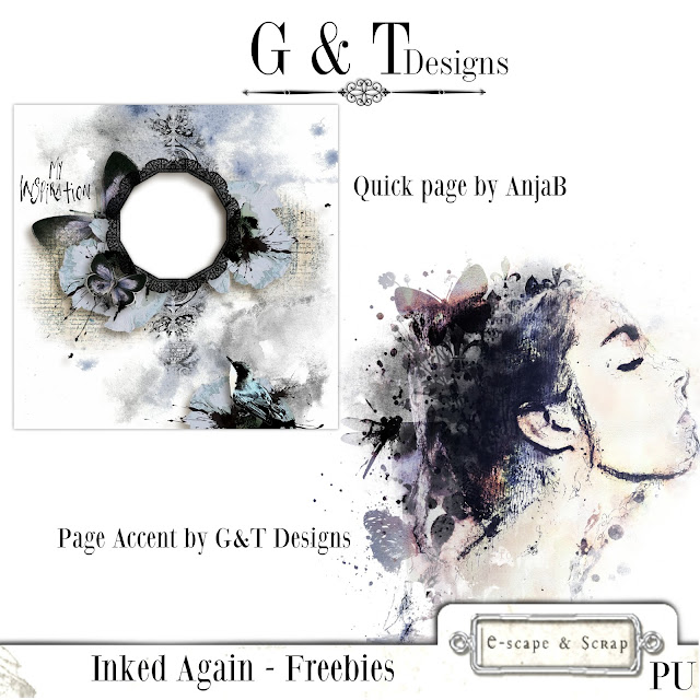 G&T Designs - Inked Again & Freebie