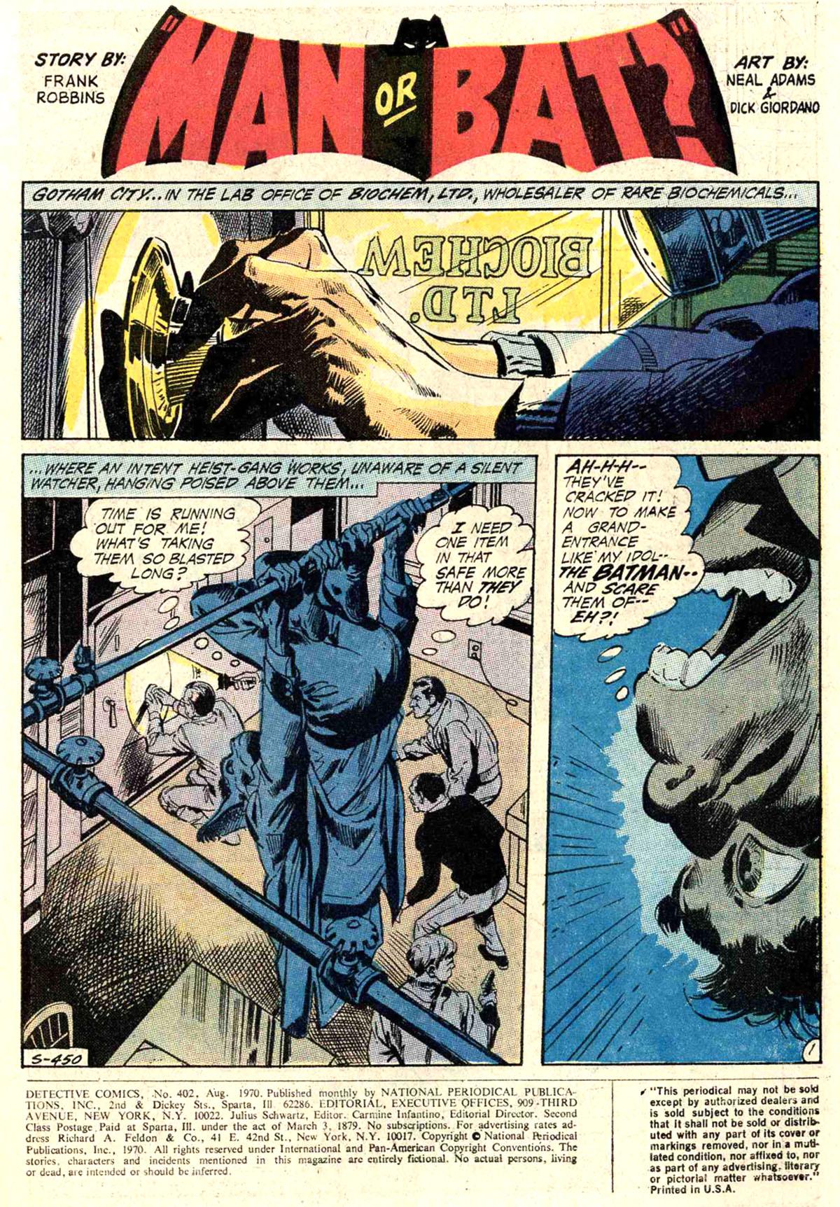 Detective Comics (1937) 402 Page 2