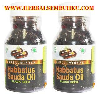JUAL KAPSUL MINYAK HABBATUS SAUDA OIL BLACK SEED HERBAL INDO UTAMA DI SURABAYA SIDOARJO JAKARTA