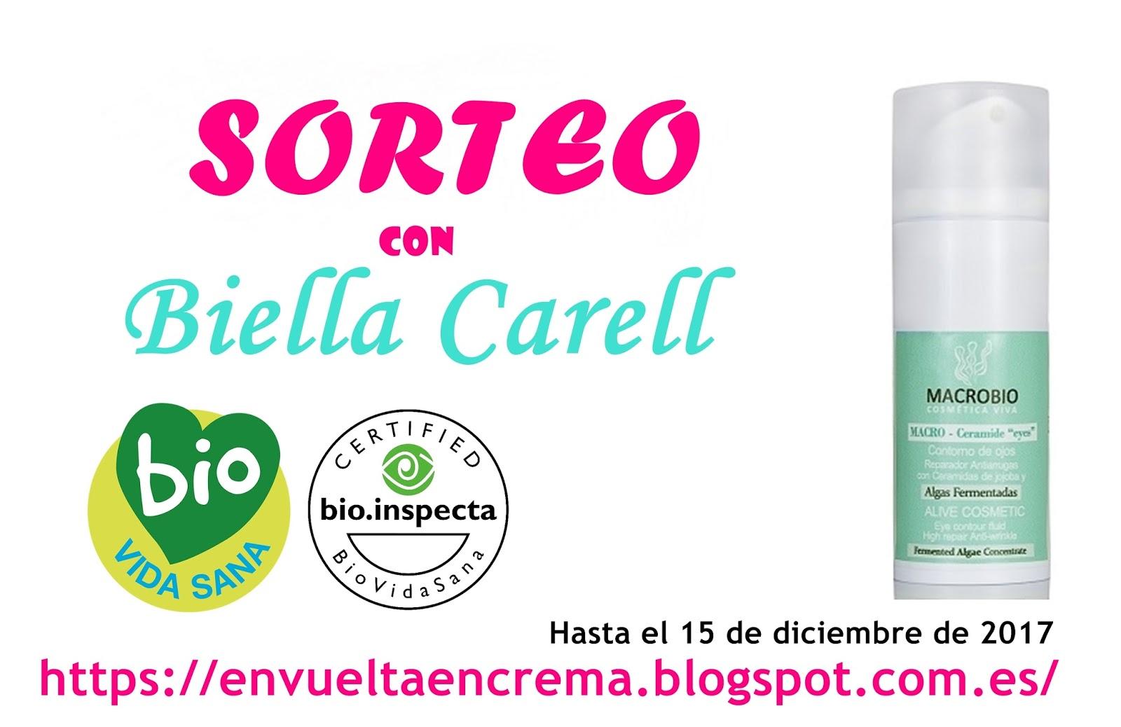 Sorteo Biella Carell (Hasta el 15 de diciembre)