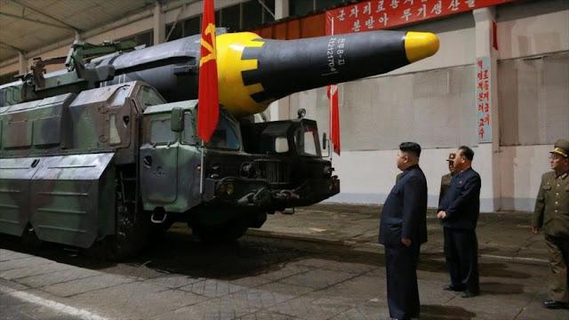 Corea del Norte moviliza sus misiles en el norte de Pyongyang