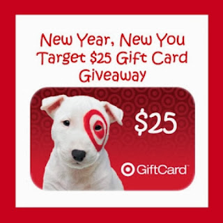 Last Day To Enter the New Year, New You Target $25 Gift Card Giveaway!
