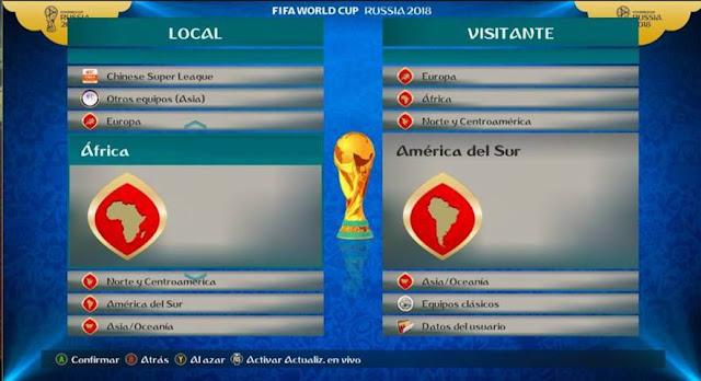 Mods FIFA 18 Logos FIFA World Cup For PES 2017