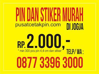 cetak pin dan stiker murah