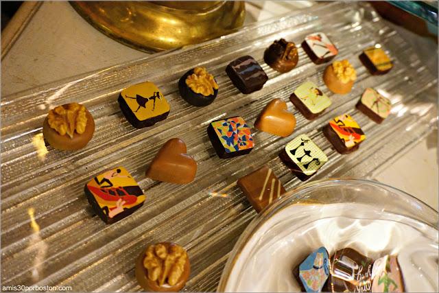 Chocolatería MarieBelle: Bombones