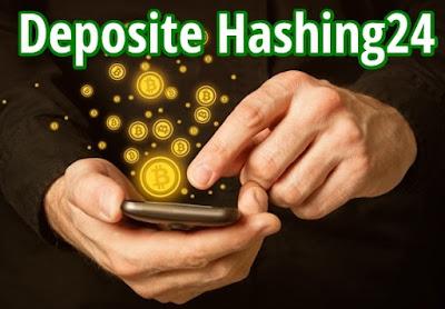 Panduan dan Tutorial lengkap cara Deposite Akun Hashing24
