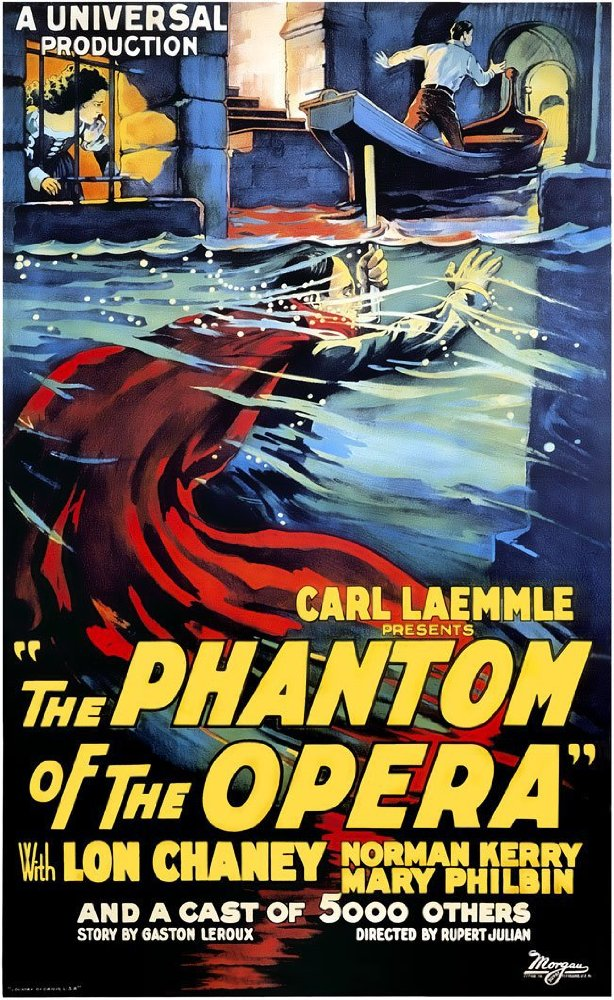 ... the Bloomington Center for the Performing Arts is offering the silent  film version of The Phantom of the Opera, played with live organ  accompaniment ...