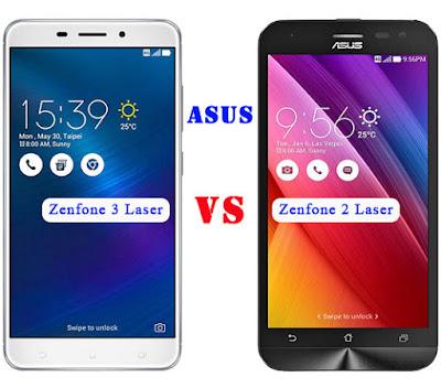 Asus Zenfone 3 Laser VS Laser 2 ZE500KL