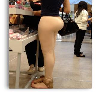 nenas ricas pants pegados