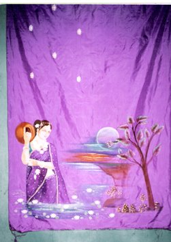 Fabric Painting, Saree Painting, Panjabhi Dress Painting, Cloth Painting in Hyderabad | ARTNVN