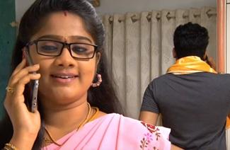 Saravanan asks a kiss from Bhoomika