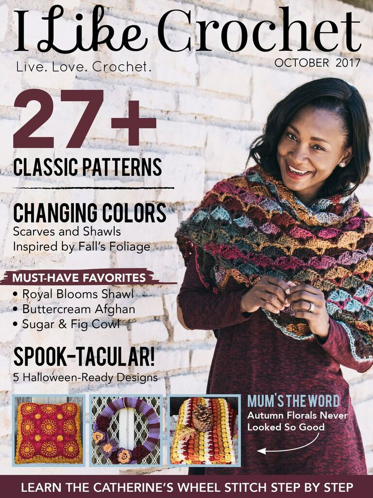 """""""Changing Colors"""" I Like Crochet Features + Review!"""