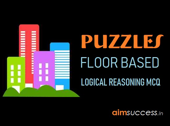 Floor Based Puzzles for IBPS RRB Prelims: 2nd August 2018