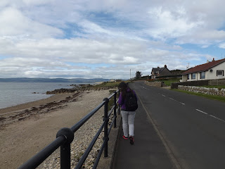 Blackwaterfoot tengerparti sétánya