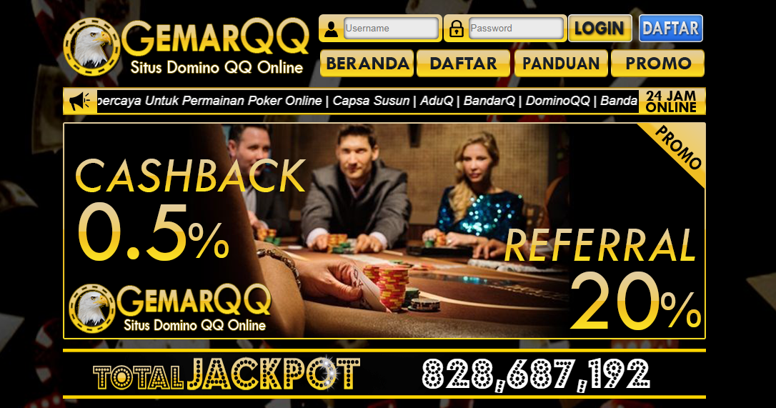 Situs Poker Online GemarQQ