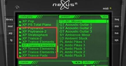 nexus guitar expansion