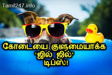 கோடையை சமாளிப்பது எப்படி, kodai veyil samalikka tips, summer tips in tamil, cool tips,
