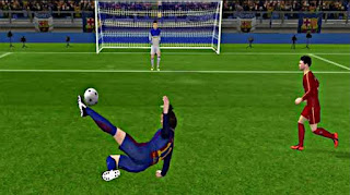 Dream league soccer 18 goal image