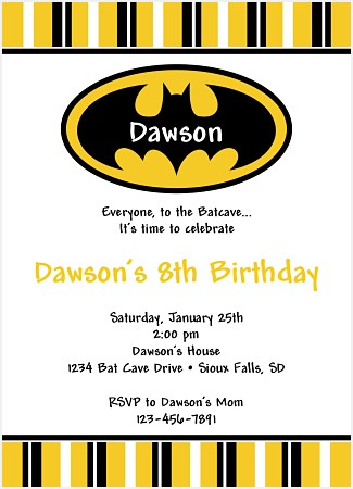 Help me pick batman birthday invitations my mom shops help me pick batman birthday invitations filmwisefo Choice Image
