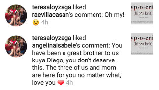 "Diego Loyzaga's Mother and Stepsisters Reveal That They Support Him Against Cesar Montano: ""You Don't Deserve This"""