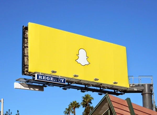 Snapchat Ghostface Chillah billboard