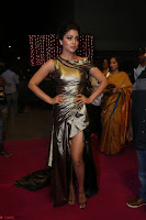 Shreya Saran in Skin Tight Golden Gown ~  Exclusive 052.JPG
