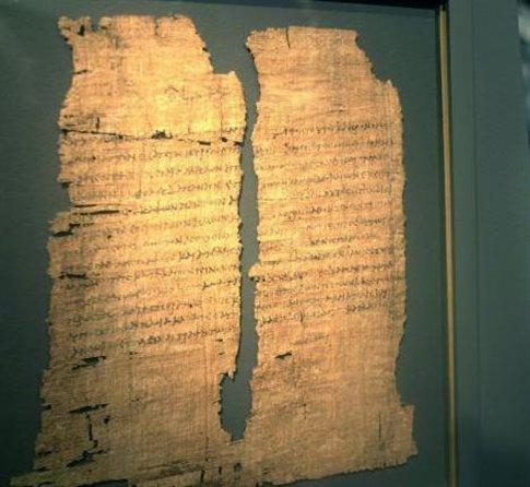 Ανακαλύφθηκαν ελληνικά αποσπάσματα από την «Αποκάλυψη του Ιακώβου»