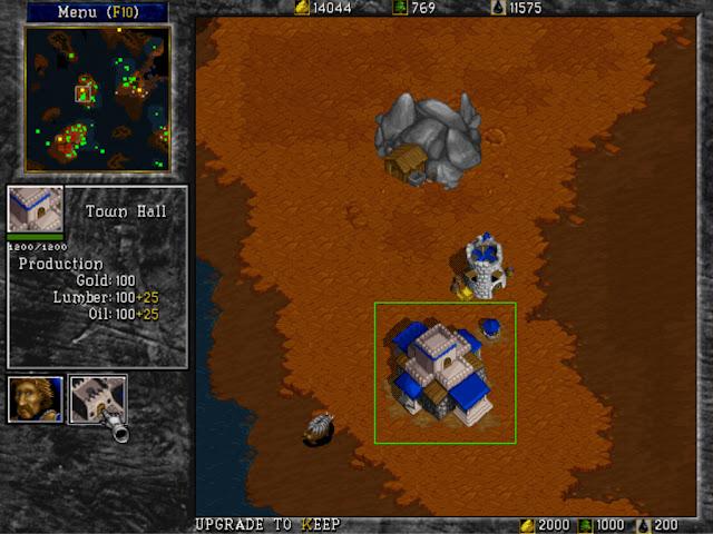 Warcraft 2 Town Hall Screenshot