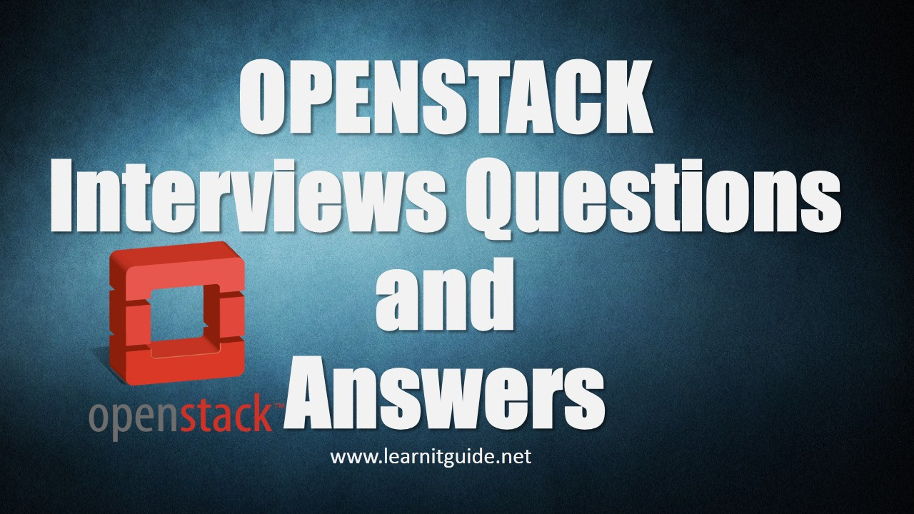 openstack interview questions and answers