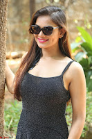 Aswini in lovely Deep Neck Sleeveless Black Dress Spicy Pics ~  Exclusive 66.JPG