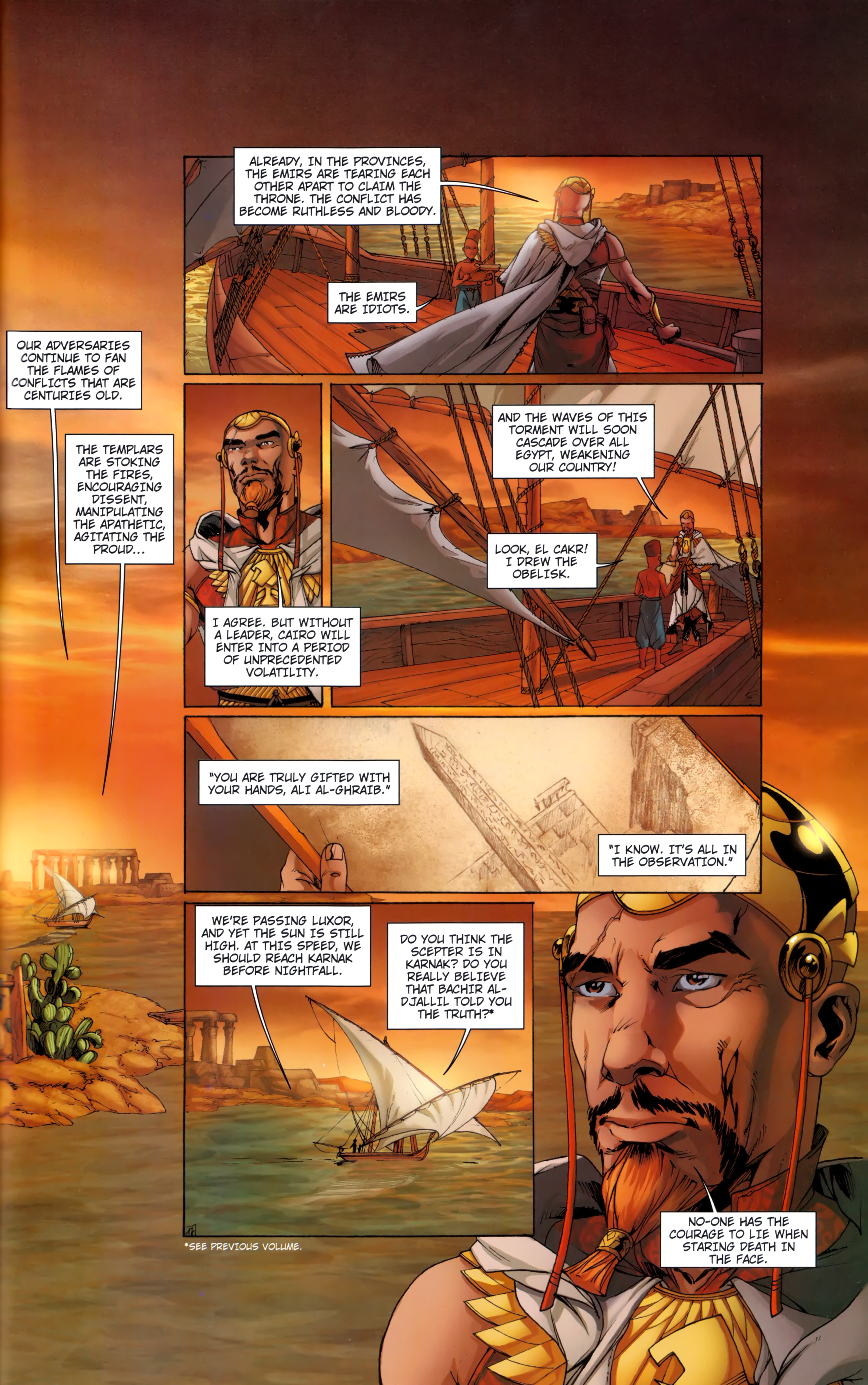 Read online Assassin's Creed (2012) comic -  Issue #5 - 19