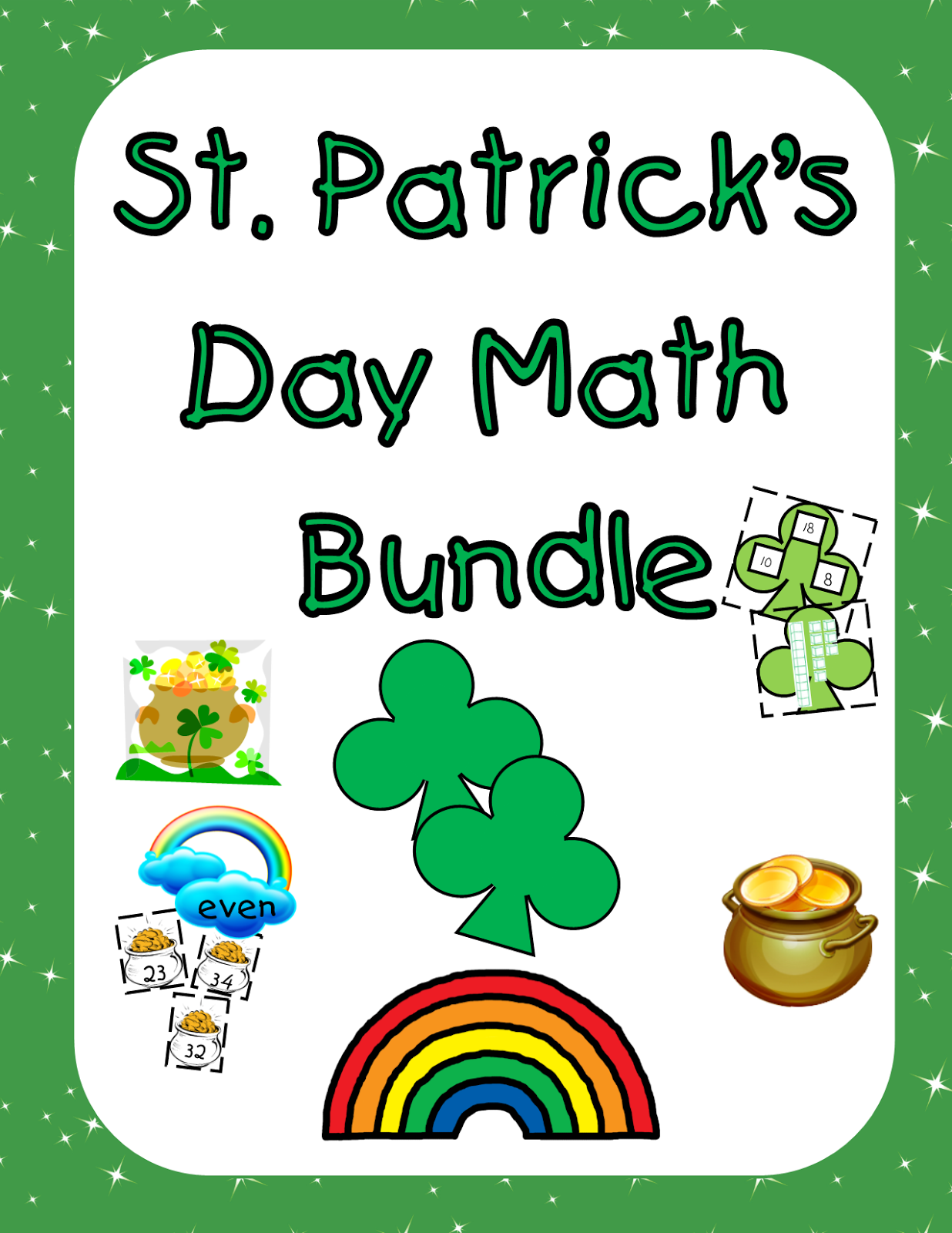 Pride And Primary St Patrick S Day Math Craftivity