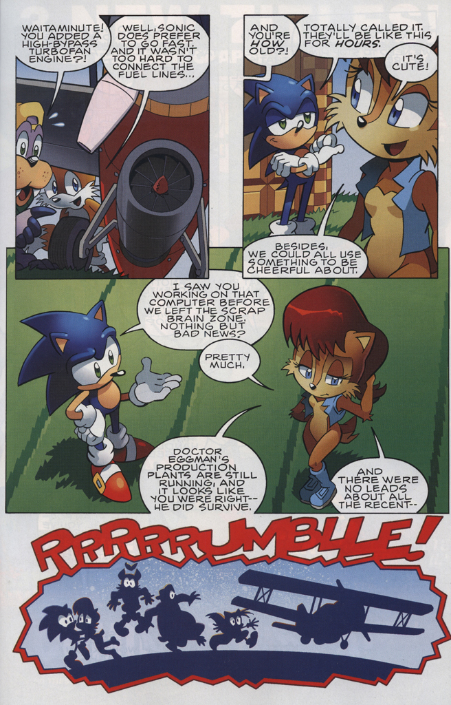 Read online Sonic The Hedgehog comic -  Issue #228 - 5
