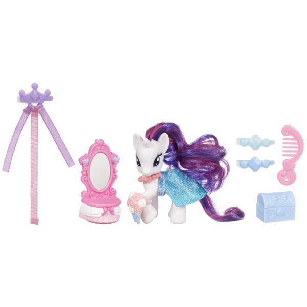 My Little Pony Bridle Friends Rarity Brushable