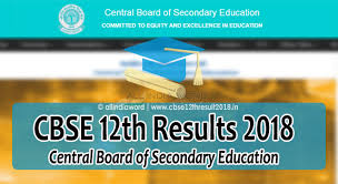 CBSE 12th Results 2018