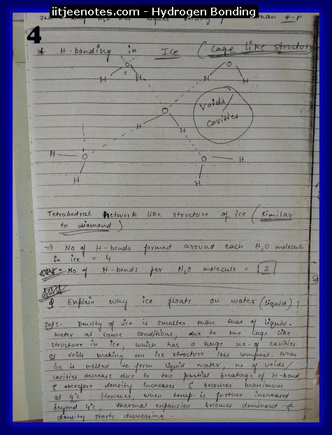 hydrogen bonding4