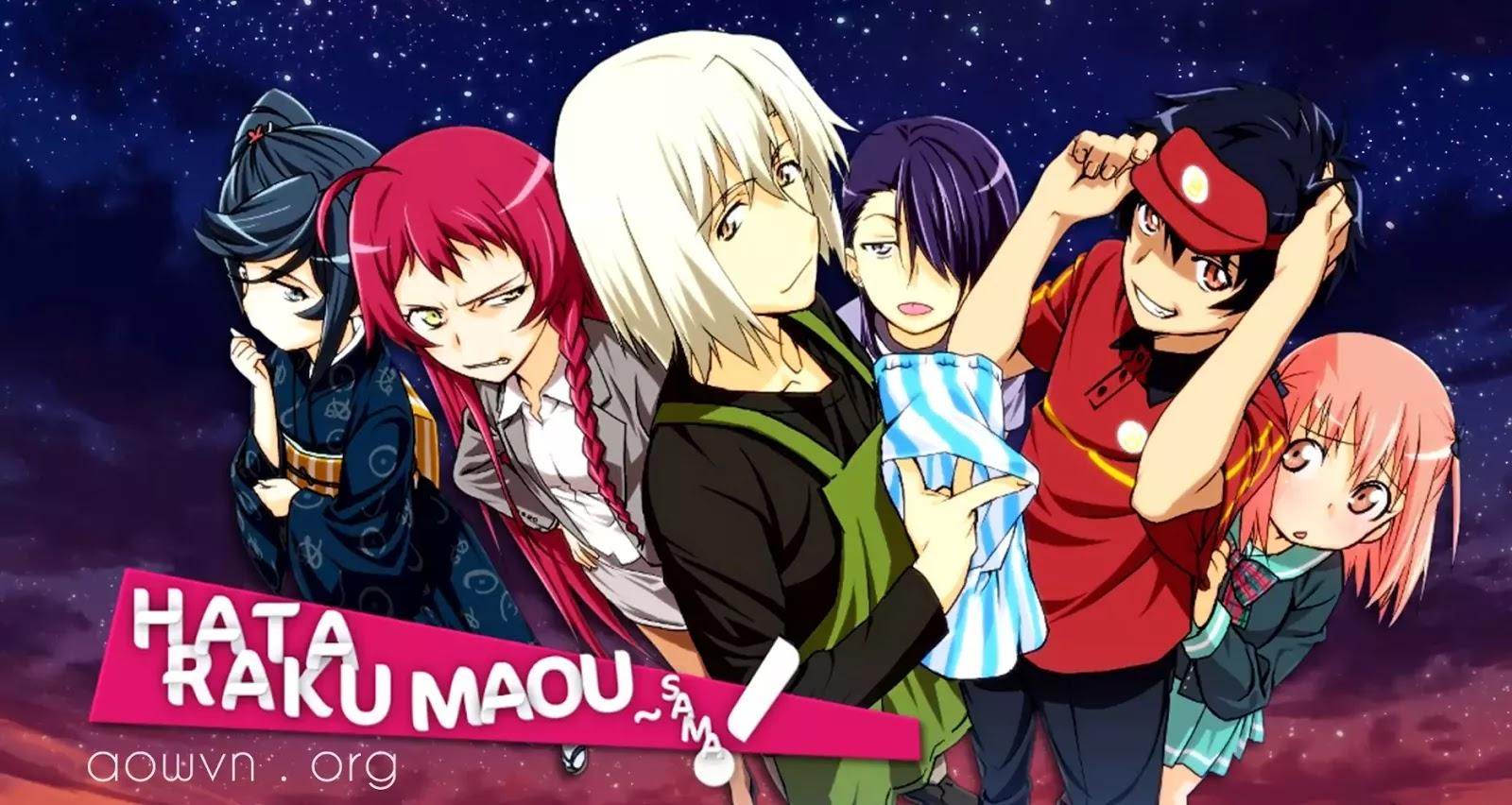 AowVN - [ Anime 3gp ] Hataraku Maou-Sama! - Ma vương đi làm | Vietsub max hài
