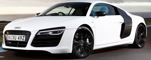 Cars audi r8 Color white
