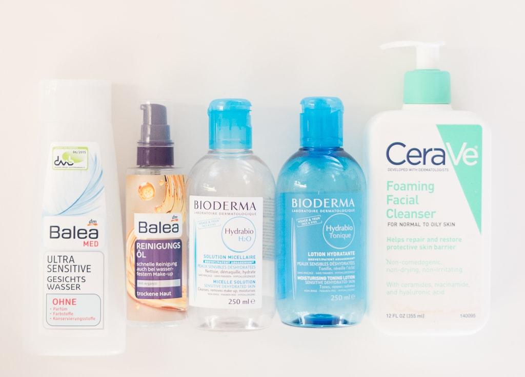 Aufgebrauchte Kosmetikprodukte Februar 2017 Gesichtsreinigung