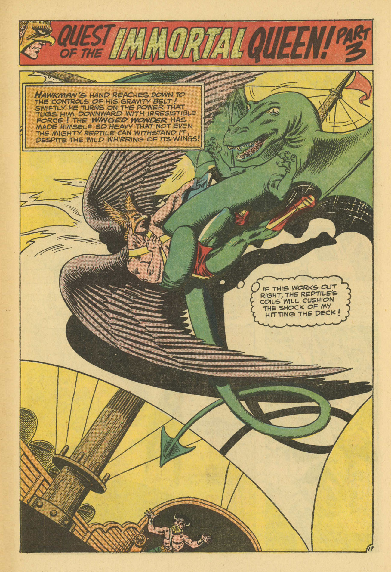 Hawkman (1964) issue 13 - Page 23