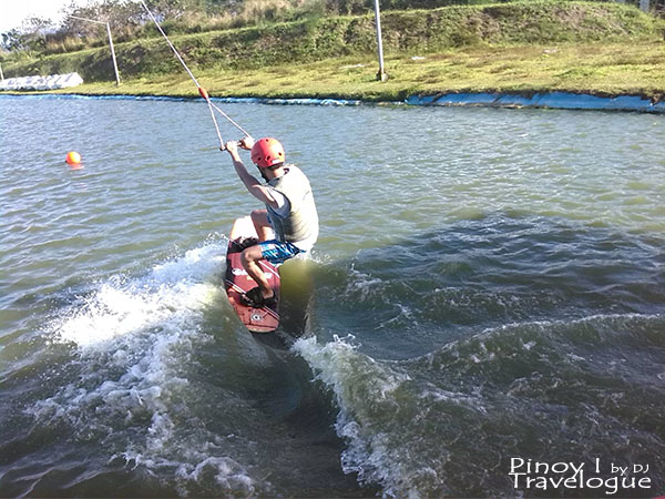 Cable wakeboarding in Nuvali